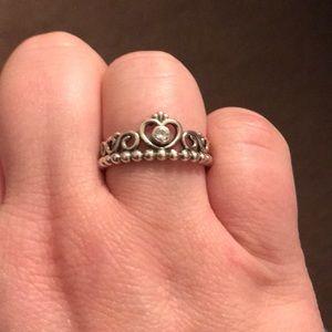 Pandora Tiara Ring size 8